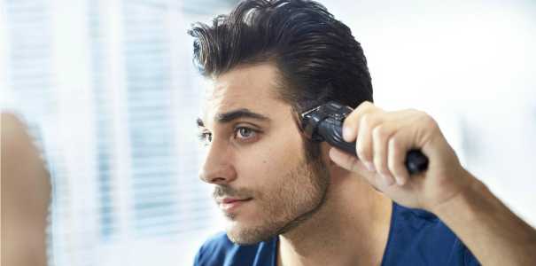 Guide coupe cheveux homme tondeuse